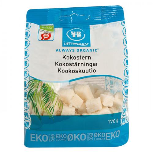 Urtekram Urtekram Kokostärningar 170g EKO