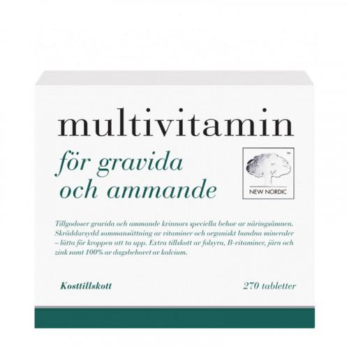 New Nordic Multivitamin För Gravida & Ammande 270t