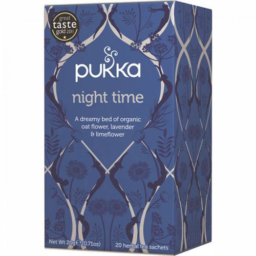 Pukka Night Time Te 20 Påsar EKO