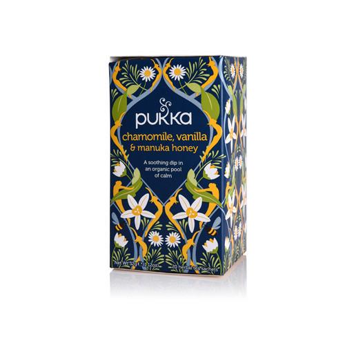 Pukka Chamomile Vanilla & Manuka Honey 20 Påsar EKO