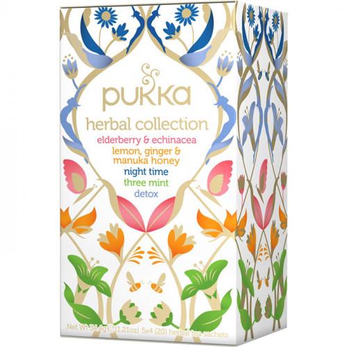 Pukka Pukka Herbal Tea Collection 20p EKO