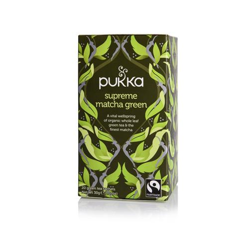 Pukka Supreme Matcha Green Te 20 påsar EKO