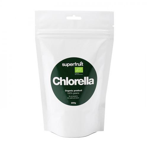 Superfruit Chlorella Powder 200g EU Organic