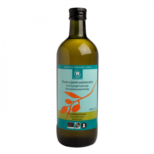 Urtekram Olja Olivolja Extra Jungfru 1liter EKO