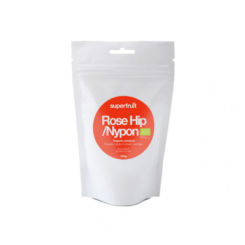 Superfruit Rose Hip/Nypon Powder 200g EU Organic