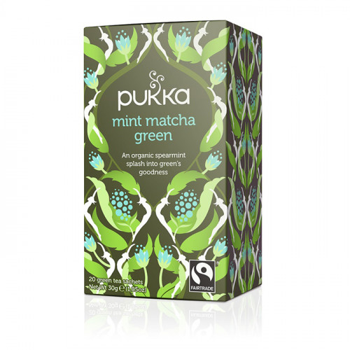 Pukka Mint Matcha Green Te  20 påsar EKO