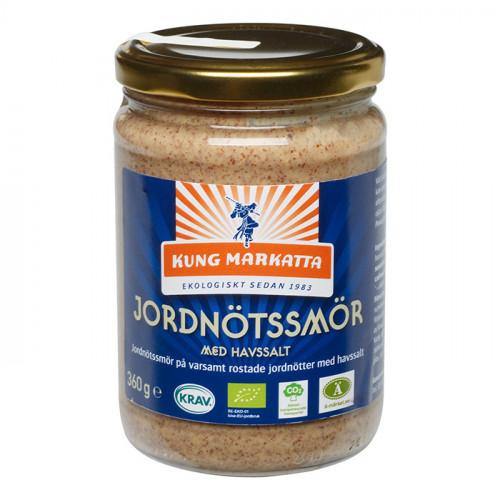 Kung Markatta Jordnötssmör med Salt 360g KRAV EKO
