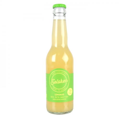 Solsken Solsken Ekologisk Lemonad Med Färsk Ingefära 33cl