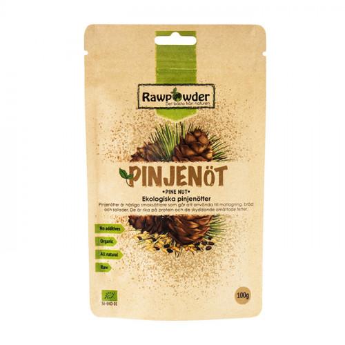Rawpowder Pinjenötter 100g EKO