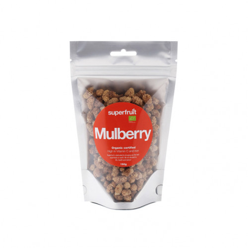 Superfruit Mulberries 160g EU Organic