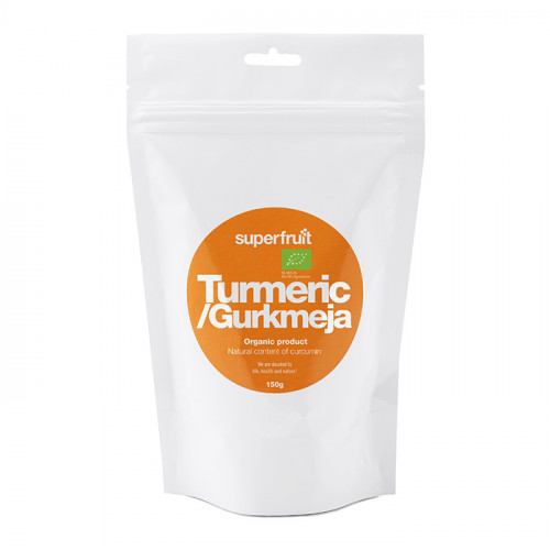 Superfruit Turmeric/Gurkmeja Powder 150g EU Organic