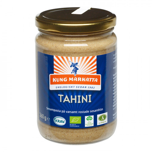 Kung Markatta Tahini utan Salt 360g KRAV EKO
