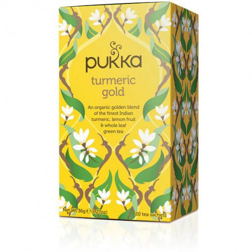 Pukka Turmeric Gold Te 20p EKO