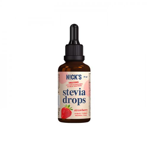 N!CK´S Jordgubb Stevia Drops 50ml