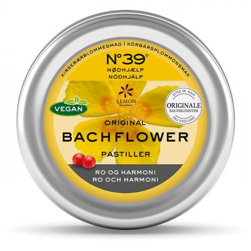 Bachblommor Bach pastiller  Nödhjälp 50g
