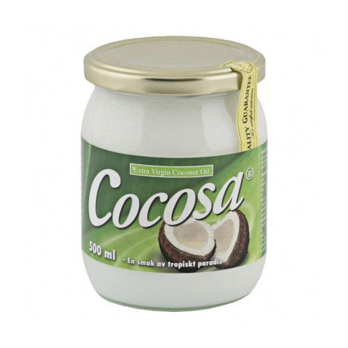 Soma Nordic Cocosa Coconut Oil Extra Virgin 500ml KRAV EKO