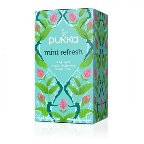 Pukka Mint Refresh 20 Påsar EKO