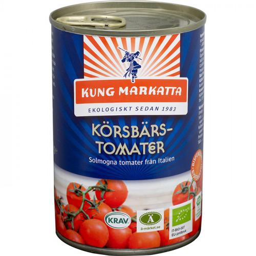 Kung Markatta Körsbärstomater 400g EKO