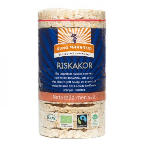 Kung Markatta Riskakor med salt 90g KRAV EKO