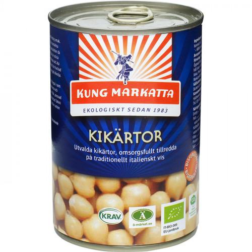 Kung Markatta Kikärtor 400g EKO