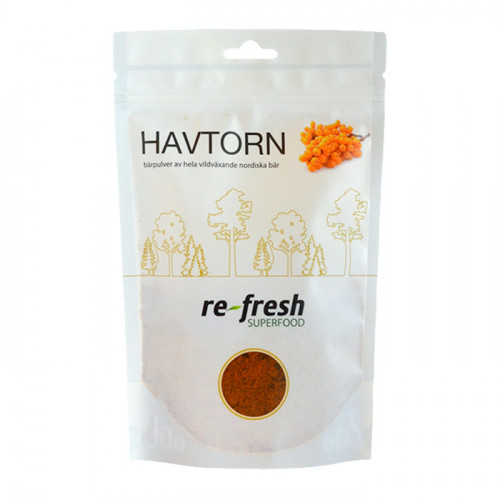 Re-fresh Superfood Havtornspulver 125g