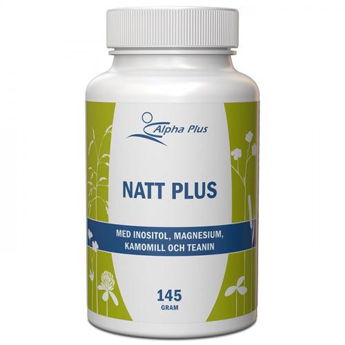 Alpha Plus Natt Plus 145g Vegan