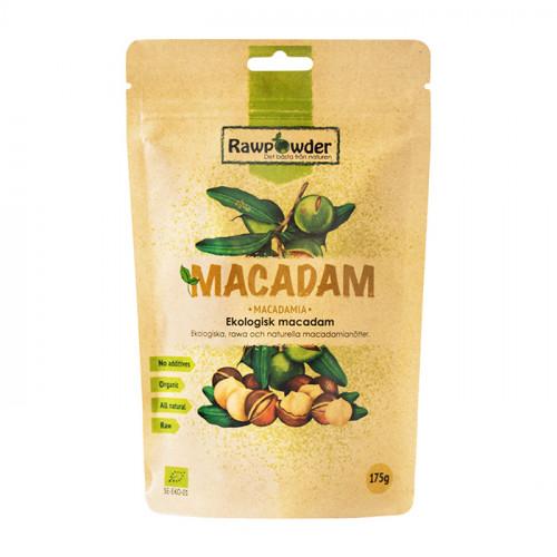 Rawpowder Macadam Nötter Naturell 175g EKO