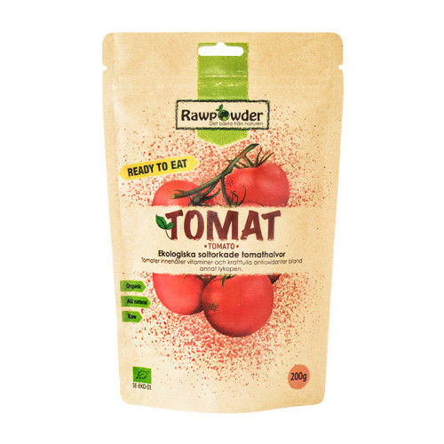 Rawpowder Soltorkade Tomater (Ready To Eat) 200g EKO