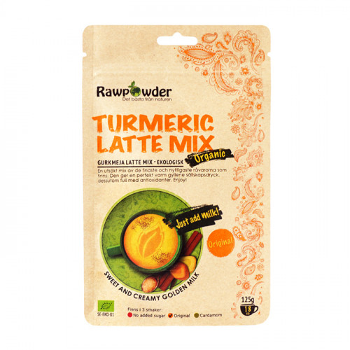 Rawpowder Turmeric Latte Mix Original 125g EKO