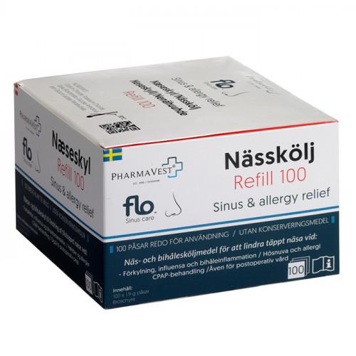 FLO FLO Nässkölj Refill Pack 100 st 1st