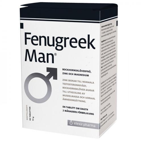 Elexir Pharma Fenugreek Man 60k