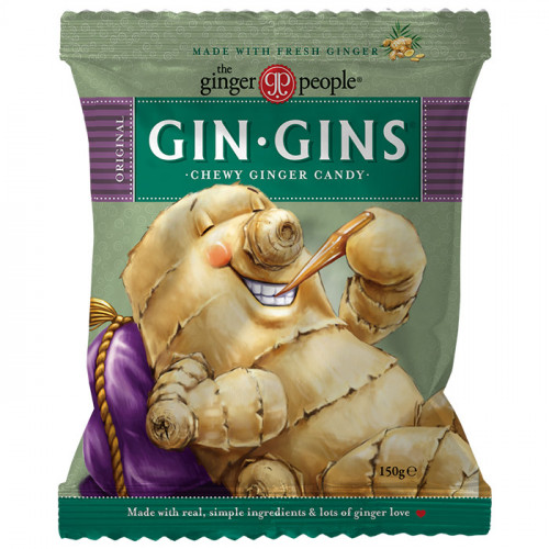 Ginger People Gin Gins Original Chewy Ginger Candy 150g