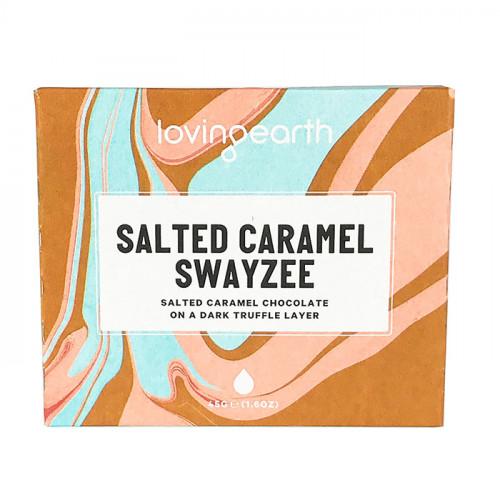 Loving Earth Salted Caramel Swayzee Chocolate Bar 45g EKO