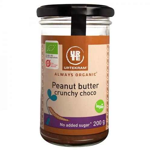 Urtekram Urtekram Crunchy Choklad Jordnötssmör 200g EKO