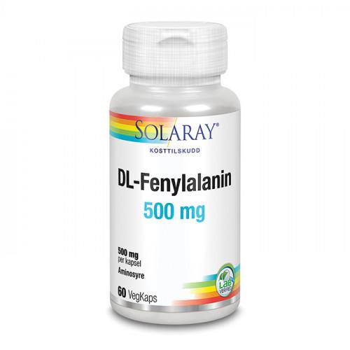 Solaray DL-Fenylalanin 60k veg