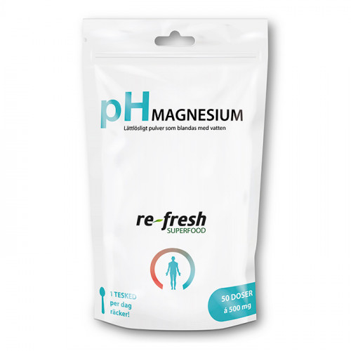 Re-fresh Superfood pH-Pulver Magnesium 100g