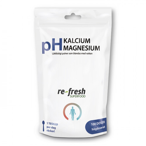 Re-fresh Superfood pH-Pulver Kalcium + Magnesium 300g