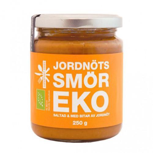 Superfruit Foods Jordnötssmör Crunchy Salt  250g EU EKO