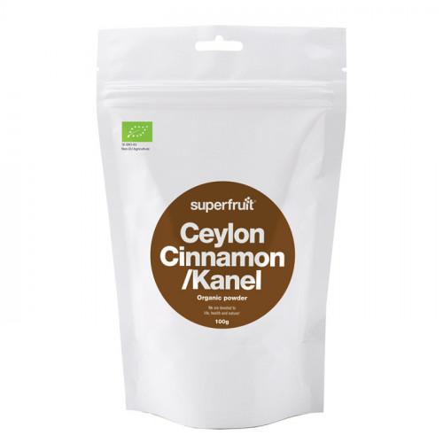 Superfruit Ceylon Kanel Pulver  100g EU EKO