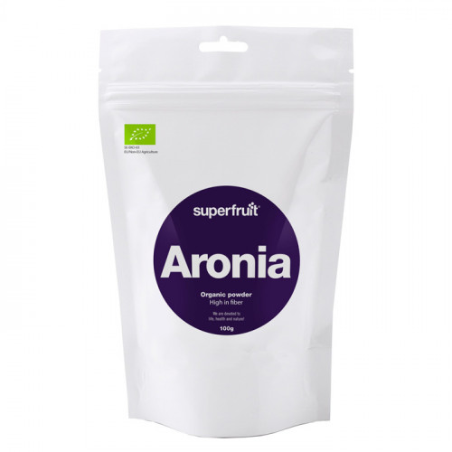Superfruit Aronia Pulver  100g EU EKO