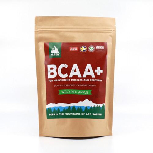 Kleen Sports Nutrition KLEEN BCAA+  Wild Red Apple 200g