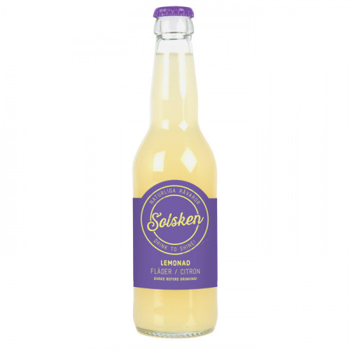 Solsken Solsken Lemonad Fläder/Citron 33cl