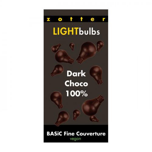 Zotter Zotter Light Bulbs Couvertyr 100% 130g EKO