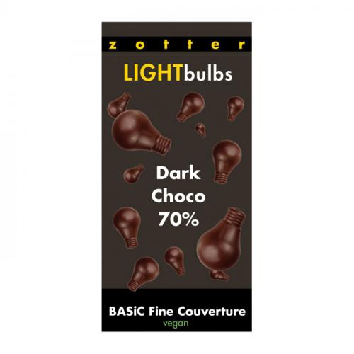 Zotter Zotter Light Bulbs Couvertyr 70% 130g EKO