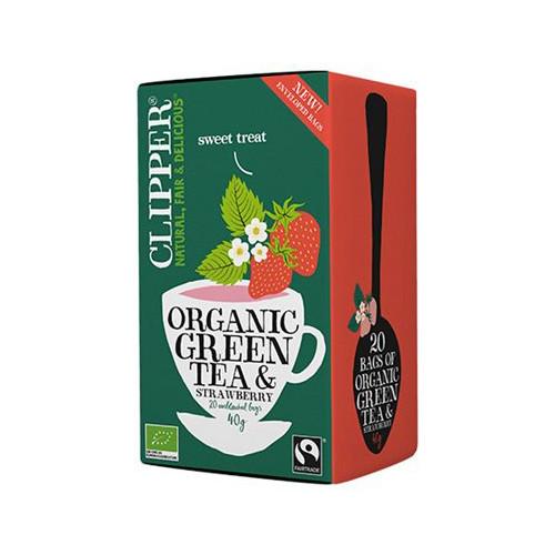 Clipper Clipper Green Strawberry 20p EKO