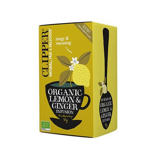 Clipper Clipper Lemon And Ginger 20p EKO