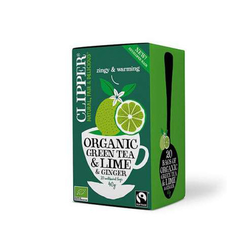 Clipper Clipper Green Lime and Ginger 20p EKO