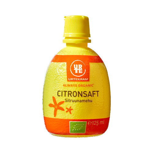 Urtekram Citronsaft 125 ml EKO