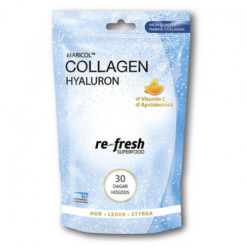 Re-fresh Superfood Collagen Hyaluron + C 150 g