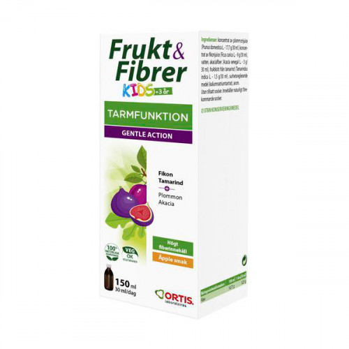 Ortis Frukt & Fibrer Kids 150 ml